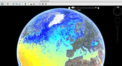 Google Earth SST Animation